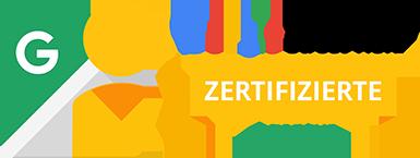 Zertifizierte Agentur von Google