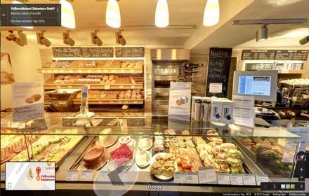 Bäckerei Siebenkorn Gießen, Café
